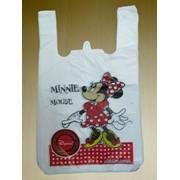 "Пакет тип ""майка"" Minni Mouse фото"
