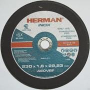 Абразивный отрезной круг HERMAN INOX фото