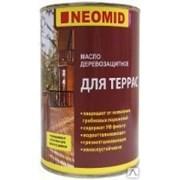Масло деревозащитное для террас Неомид фото