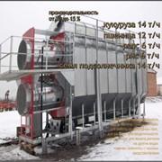 Зерносушилка Teco 0922i 9 секций 2 уровня фото