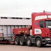 Перевозки негабаритных и тяжеловесных грузов фото
