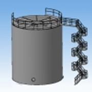 Резервуары вертикальные стальные фото