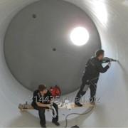 Футеровка бункеров, резервуаров фото