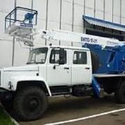 Автогидроподъемник ВИПО-18-01 на шасси ГАЗ-33081/33088 (4х4) (5м. каб) фото