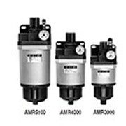 Микрофильтр-регулятор AMR3000-6000 G1/4 ~ G1 фото
