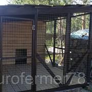 Вольер для собак 4м х 2,5м фото
