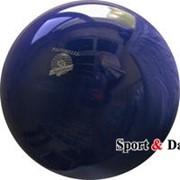 Мяч синий,18см, вес 400 гр. фото