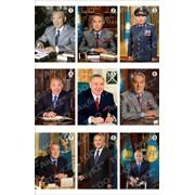 Портреты Президента РК № 3-9 фото