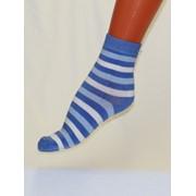 Носки женские гладкие с рисунком C640 фото