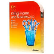 Офисное ПО MS OFFICE 2010 Home and Business BOX фото