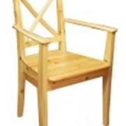 Кресло из сосны фото