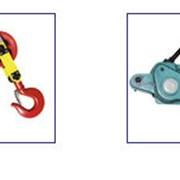 Грузоподъемное оборудование (тали, лебедки, блоки, домкраты) фото