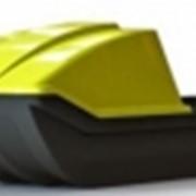 Капот для для саней Safari #1(230x65x40)см Цвета: черный, желтый. фото