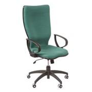 Тканевое кресло руководителя современного дизайна фото