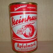 Пюре яблочное консервированное, Steinhaus фото