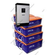 Система бесперебойного электроснабжения для дома EX5000-48/D1600(8x200) GEL фото