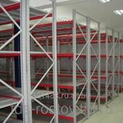 Стеллаж среднегрузовой полочный СГР до 1000 кг фото