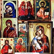Иконы из бисера фото
