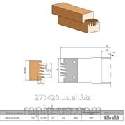 Фреза для сращивания древесины по длине 120х32 40 х50х2+2 050.05.00.00. фото
