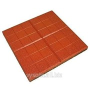 Резиновая плитка Сетка фото
