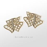 Серьги с бриллиантами E30691-3 фото