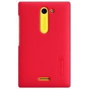 Чехол-накладка Nillkin для Nokia 502 Asha Dual SIM красный фото
