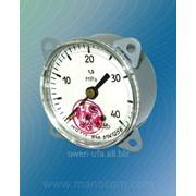 Мановакуумметр с осевым расположением штуцера диаметр корпуса 60 мм МП2-У ОШ, ВП2-У ОШ, МВП2-У ОШ