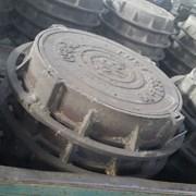 Люки чугунные тип Т ГОСТ 3634-99 вес 110 кг фото