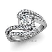 Кольца с бриллиантами D42599-1 фото
