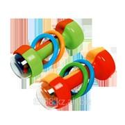 Игрушка-погремушка Гантелька 4+ фото