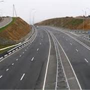 Разметка дорог, Крым фото
