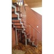 Лестница на 2-х косоурах в Воткинске