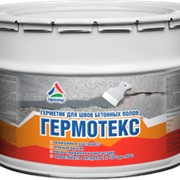 Гермотекс — полиуретановый герметик для швов бетона фото