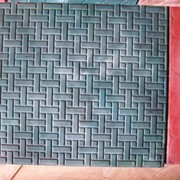 Тротуарная плитка Циновка фото