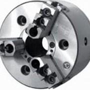 Патроны токарные 3-х кулачковые клиновые механизированные фото