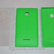 Крышка задняя зеленая для Microsoft Lumia 532 + ПЛЕНКА В ПОДАРОК 4144-1 фото