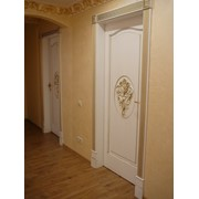 Двери межкомнатные с элементами резьбы фото