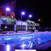 Освещение для бассейнов фото