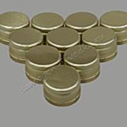 "Алюминиевый колпачок типа ""Винт"" золото без резьбы 28х18 (10шт) фото"