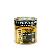 Грунт-эмали 3 в 1 DALI по ржавчине 0.75 литра фото
