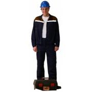 """Костюм """"ЛЕГИОНЕР"""": летняя короткая куртка, п/к темно -синий с васильковым и СОП"""
