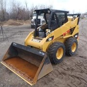 Аренда мини погрузчика Caterpillar 242B3 фото