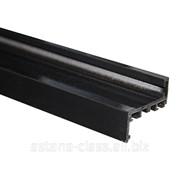 Комплект AL (Z-обр.) дверной коробки с уплотнителем и уголками Ti-802H RAL 9005 фото