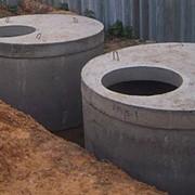 Кольца бетонные фото