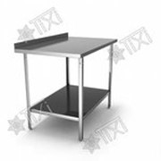 Стол разделочно-производственный с одним бортом СРП-1-0,4/1,5-П (нержавейка) фото