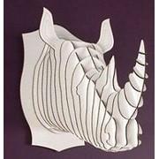 Трофейная голова Носорога фото