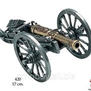 Модель Пушка наполеоновская Gribeauval фото