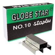 Скобы для степлера №10, global star, 1000 шт. 60009 фото