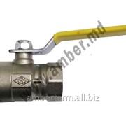 Кран шаровый газовый Dn20 с высокое давление VIP (84818081) фото