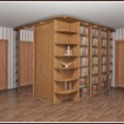 """Мебель для библиотек """"Salerno"""" фото"""